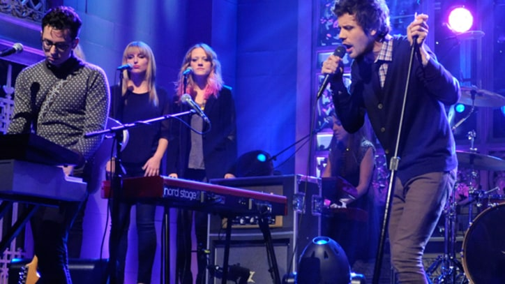 Passion Pit Get 'Carried Away' on 'SNL'