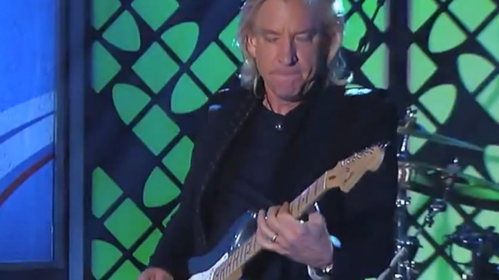 Joe Walsh Brings the 'Funk' to 'Kimmel'
