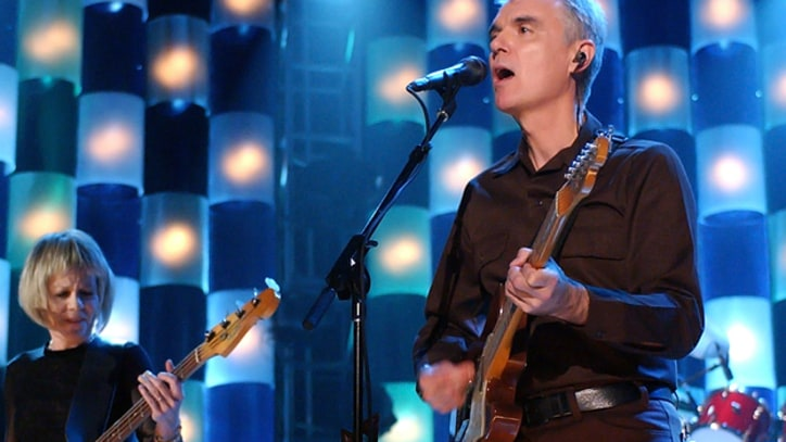 Flashback: Talking Heads Reunite for One Night Only