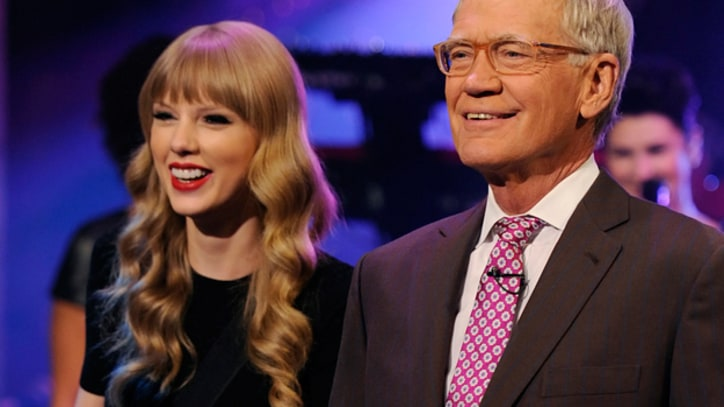 Taylor Swift Glows 'Red' on 'Letterman'