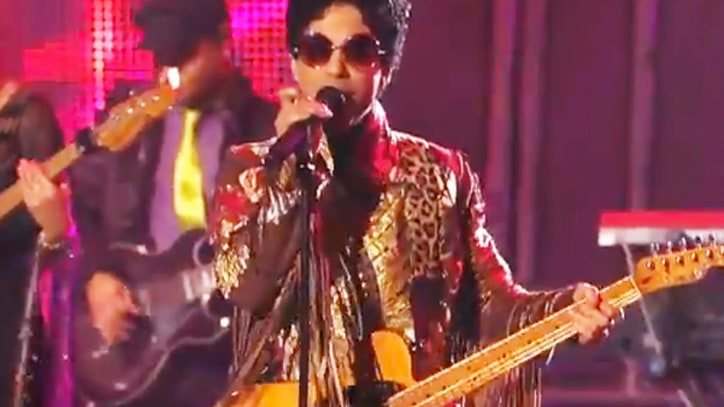Prince Has Torrid 'Rock & Roll Love Affair' on 'Kimmel'