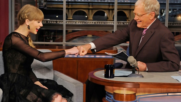 Taylor Swift Shares Car Accident Stories With David Letterman