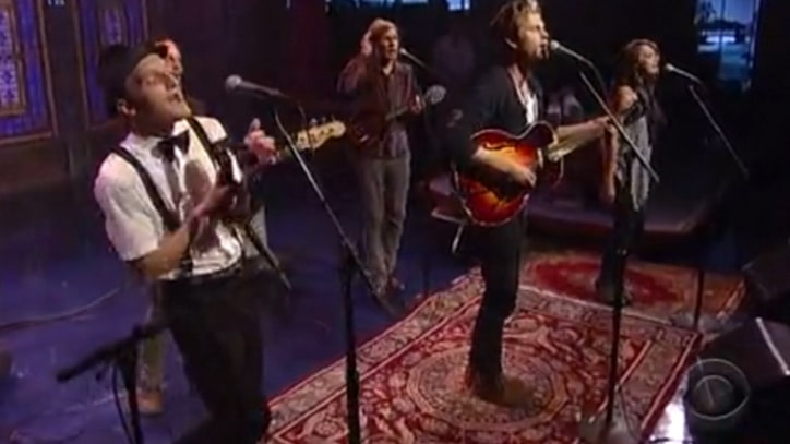 Lumineers Shine on 'Letterman'