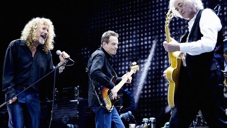 Led Zeppelin Blast Off With 'Kashmir' at London Reunion