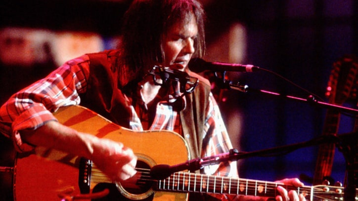 Flashback: Neil Young's Haunting 'Like a Hurricane' on 'MTV Unplugged'