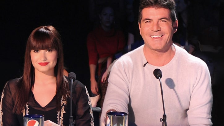 'X Factor' Goes Live With Bleeped Simon Cowell, Underdressed Khloe Kardashian
