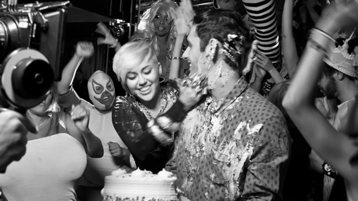 Borgore and Miley Cyrus Start Cake Fight in 'Decisions' – Premiere