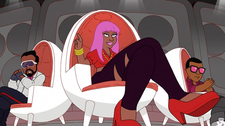 Kanye West, Nicki Minaj Exposed as Hip-Hop Illuminati on 'Cleveland Show'
