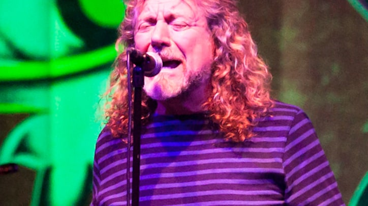 Robert Plant Knocked Down Onstage in Buenos Aires