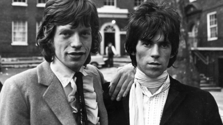 Mick Jagger and Keith Richards Write 'Sittin' on a Fence' in Vintage Clip