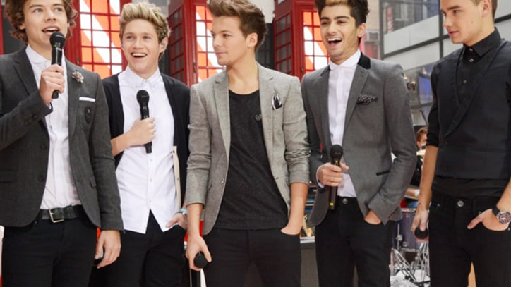 One Direction Storm 'Today' Show, Announce 3-D Concert Movie