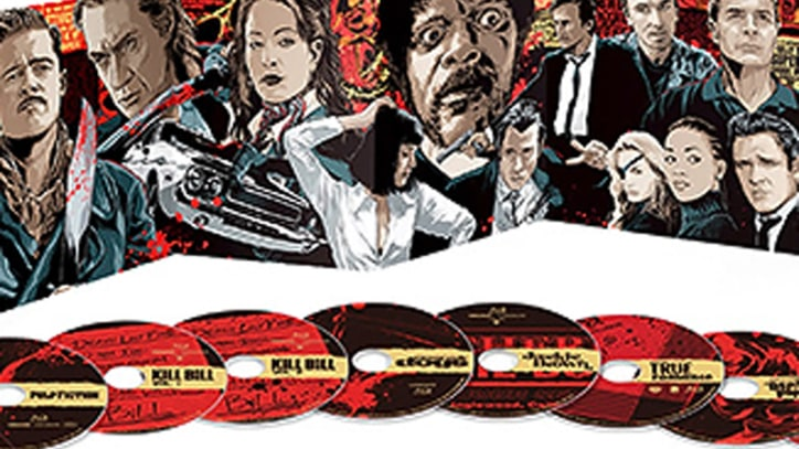 Quentin Tarantino Digs Up Extras for Retrospective Box Set