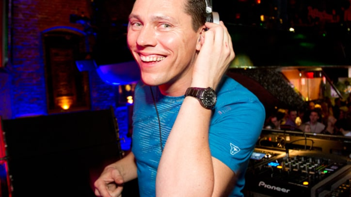 Tiesto Hits New York for Rolling Stone's Top 25 DJs Party
