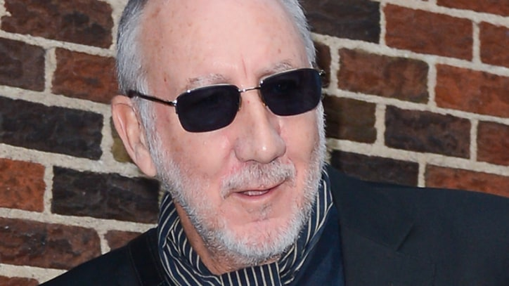 Pete Townshend Talks Keith Moon, Windmill Guitar on 'Letterman'