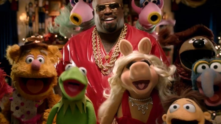 Cee Lo Crashes Muppets Holiday Party