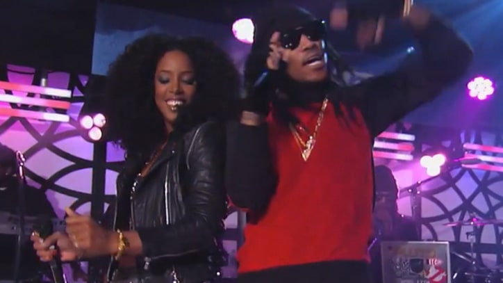 Future Hits 'Kimmel' With Kelly Rowland
