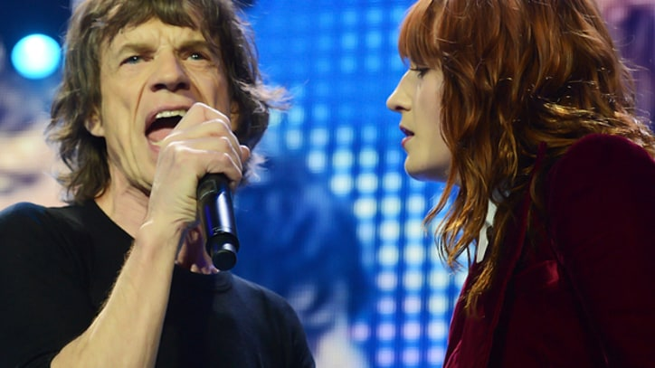 Eric Clapton, Florence Welch Join Rolling Stones Onstage in London