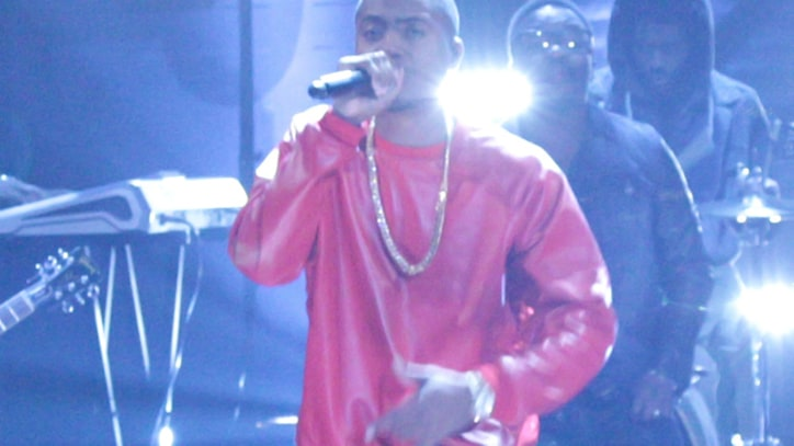 Nas Delivers 'World's an Addiction' on 'Conan'