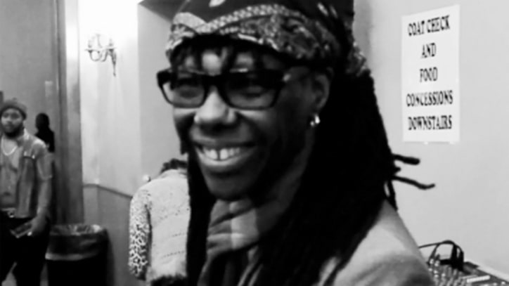 Chic's Nile Rodgers Toasts Fans in 'We Are Family' - Premiere