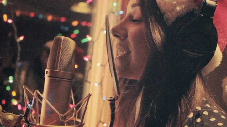 Behind the Scenes of Christina Perri's 'Very Merry Perri Christmas' EP