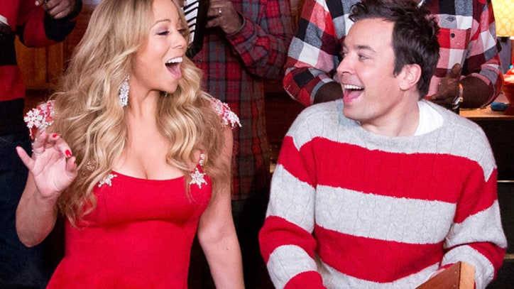 Jimmy Fallon Joins Mariah Carey on 'All I Want for Christmas Is You'