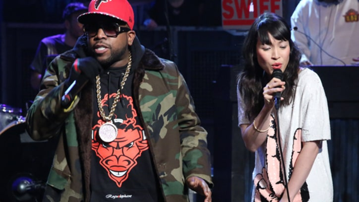 Big Boi Brings 'Mama Told Me' to 'Fallon'