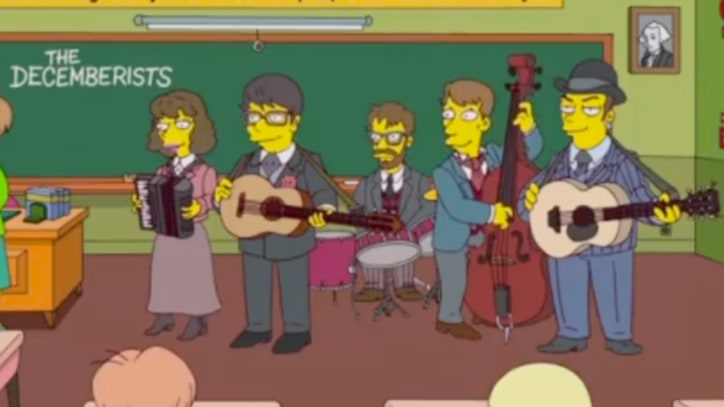 The Decemberists Appear on 'The Simpsons'