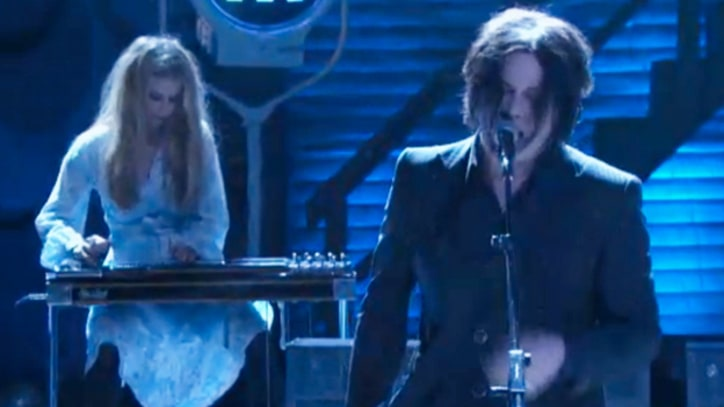 Jack White Plays Combustible 'I'm Shakin'' on 'Conan'