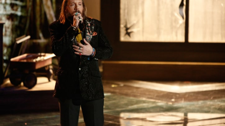 Nicholas David Makes Cee Lo Cry on 'The Voice'