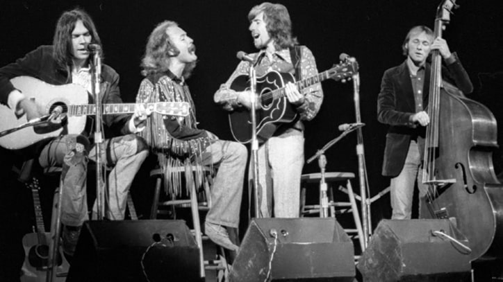 Flashback: Crosby, Stills, Nash and Young Perform 'Only Love Can Break Your Heart' in 1970