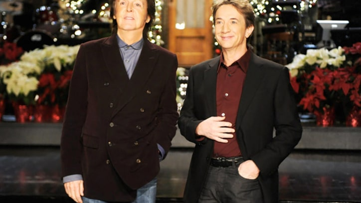 Paul McCartney Performs 'My Valentine' on 'SNL'