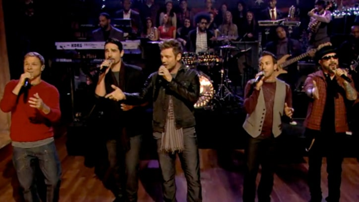 Backstreet Boys Bring 'Christmas Time' to 'Fallon'