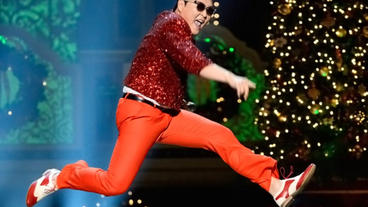 Psy Gives 'Gangnam Style' a Seasonal Twist for 'Christmas in Washington'
