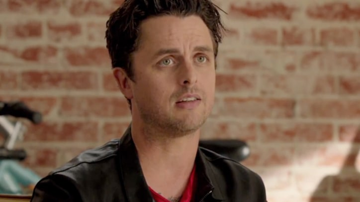 Billie Joe Armstrong Pitches Side Project in 'This Is 40' Outtake