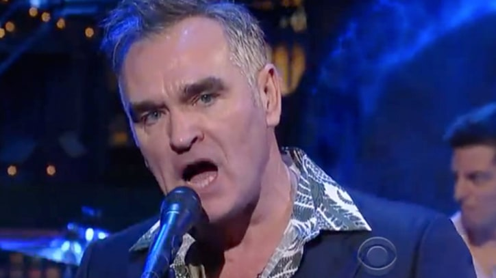 Morrissey Reintroduces Himself on 'Letterman'