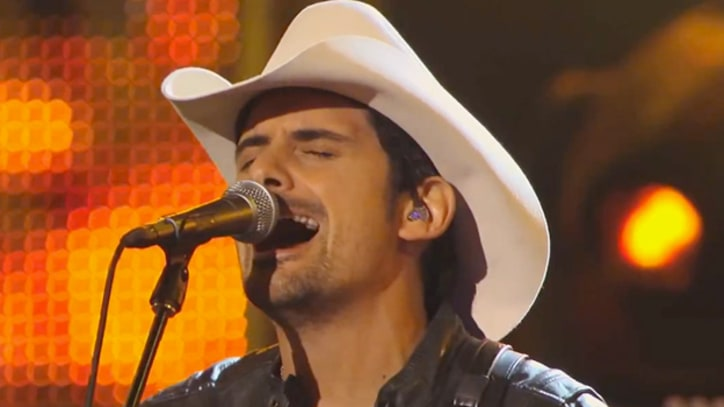 Brad Paisley Debuts New Song on 'Kimmel'