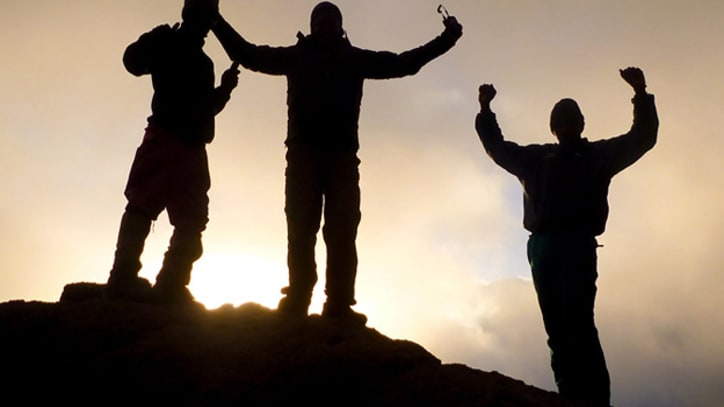 Mark Foster and Kenna Reach Top of Mt. Kilimanjaro