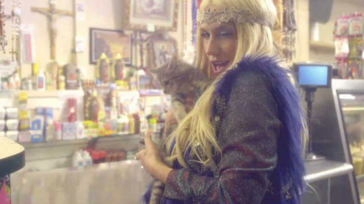 Ke$ha Gets Weird and Wild With Giant Animals in 'C'Mon'