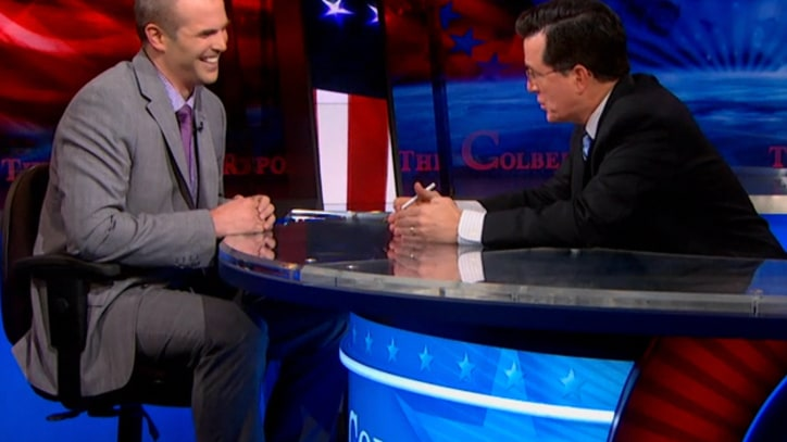 Taibbi Talks HSBC on 'Colbert'
