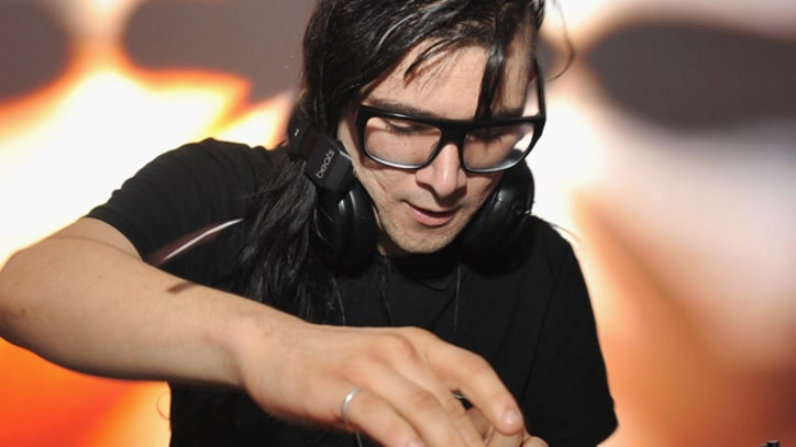 Skrillex Accidentally Sets Hair on Fire