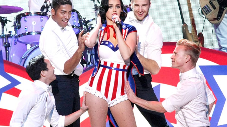 Katy Perry Performs 'Teenage Dream' at the Kids' Inaugural Concert