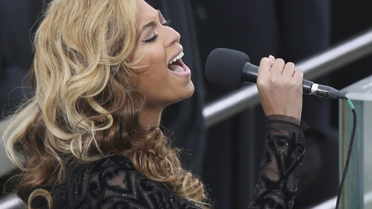 Beyonce Delivers National Anthem at Obama's Inauguration