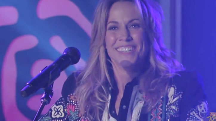 Sheryl Crow Debuts 'Easy' on 'Kimmel'