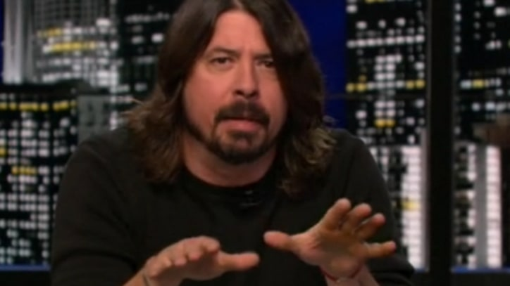 Dave Grohl Burns Britney Spears on 'Chelsea Lately'