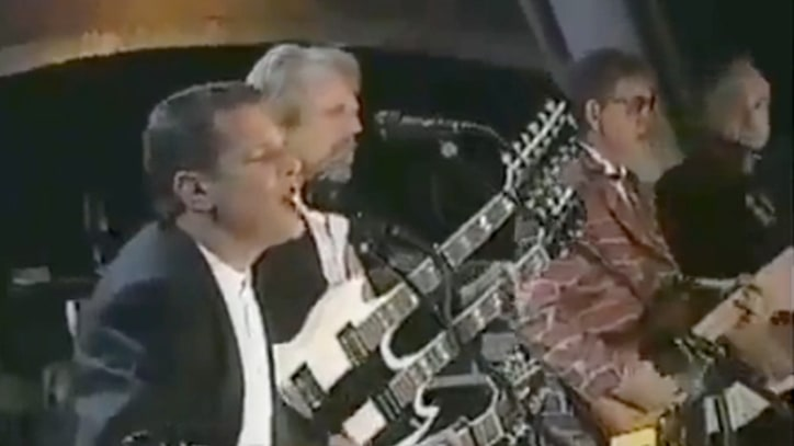 Flashback: All the Eagles Unite for Rock and Roll Hall of Fame Induction