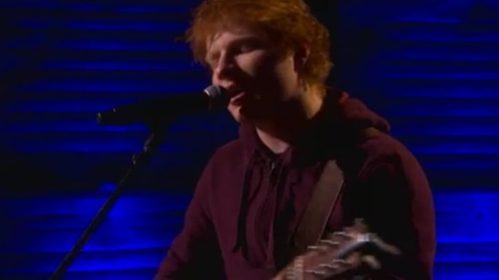 Ed Sheeran Builds 'Lego House' on 'Conan'