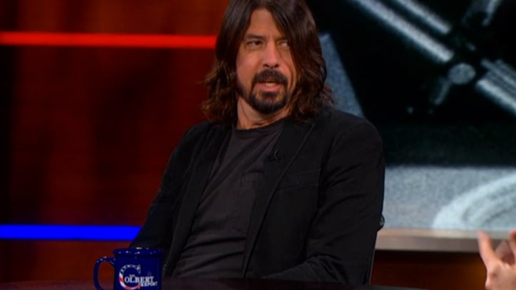 Dave Grohl Talks 'Sound City,' Nirvana on 'Colbert'