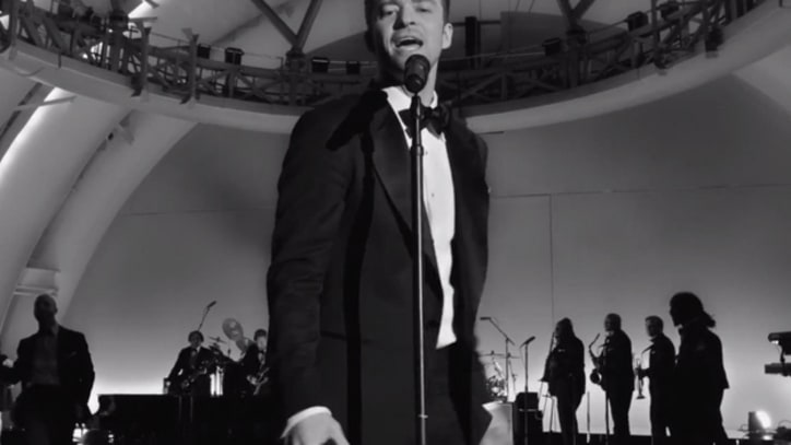 Justin Timberlake Heats Up in 'Suit & Tie'