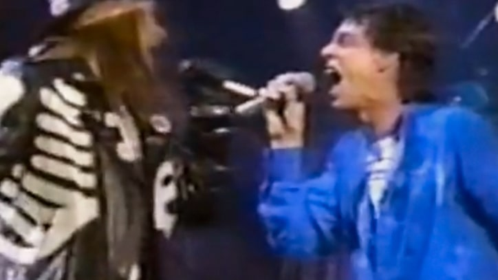 Flashback: Axl Rose Joins the Rolling Stones for 'Salt of the Earth'