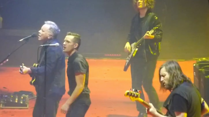 The Killers Cover New Order With Bernard Sumner